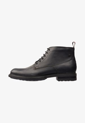 CLIFTON PULL UP - Lace-up ankle boots - black