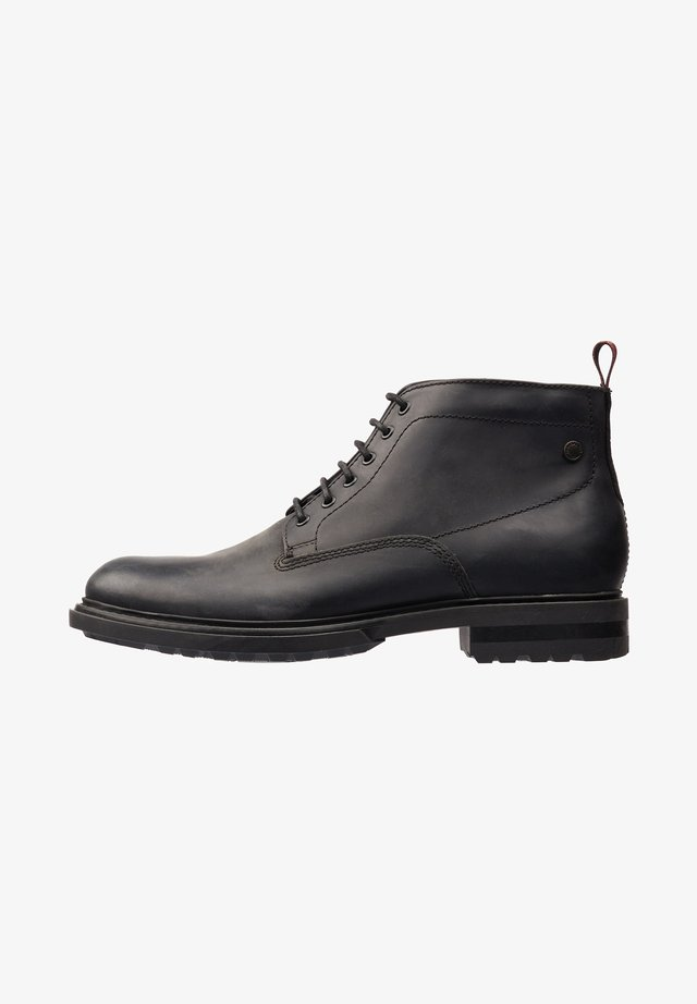 CLIFTON PULL UP - Bottines à lacets - black