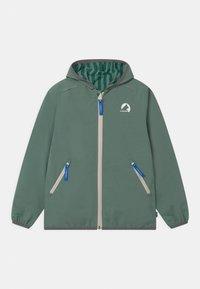 Finkid - VALAS REVERSIBLE UNISEX - Outdoor jacket - trellis/charcoal - 0