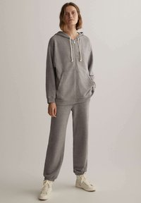 OYSHO - Zip-up hoodie - light grey - 1