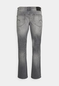 G-Star - STRAIGHT - Jeans straight leg - otas black stretch denim faded anchor - 5