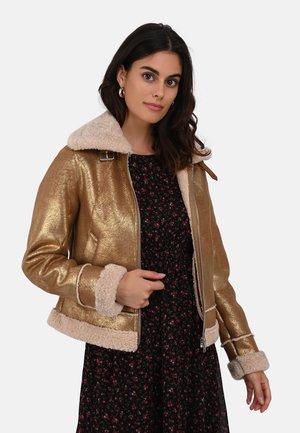 LIKE - Winter jacket - gold