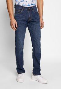 camel active - Straight leg jeans - blue denim - 0