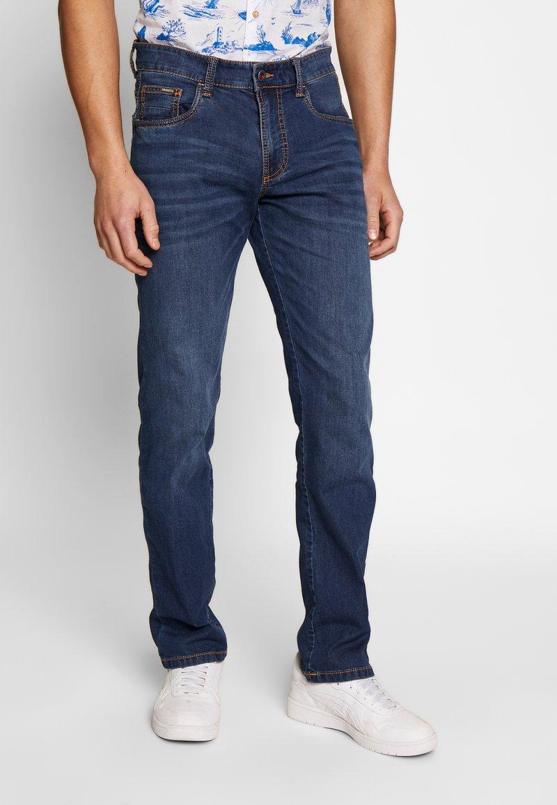 camel active - Straight leg jeans - blue denim