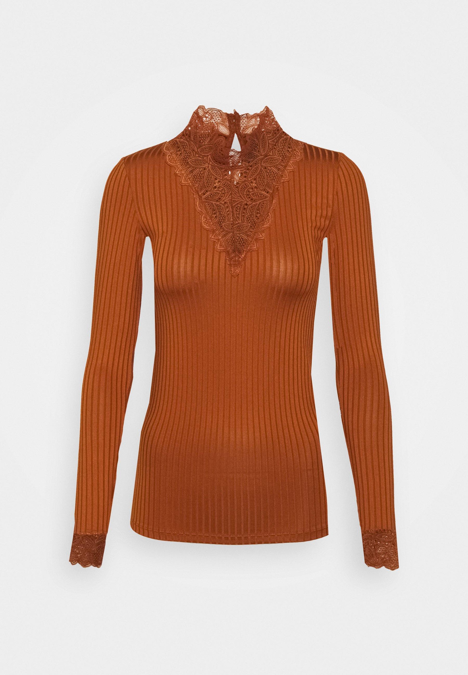 Women YASBLACE HIGHNECK - Long sleeved top