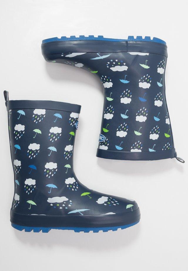 RAIN - Bottes en caoutchouc - navy