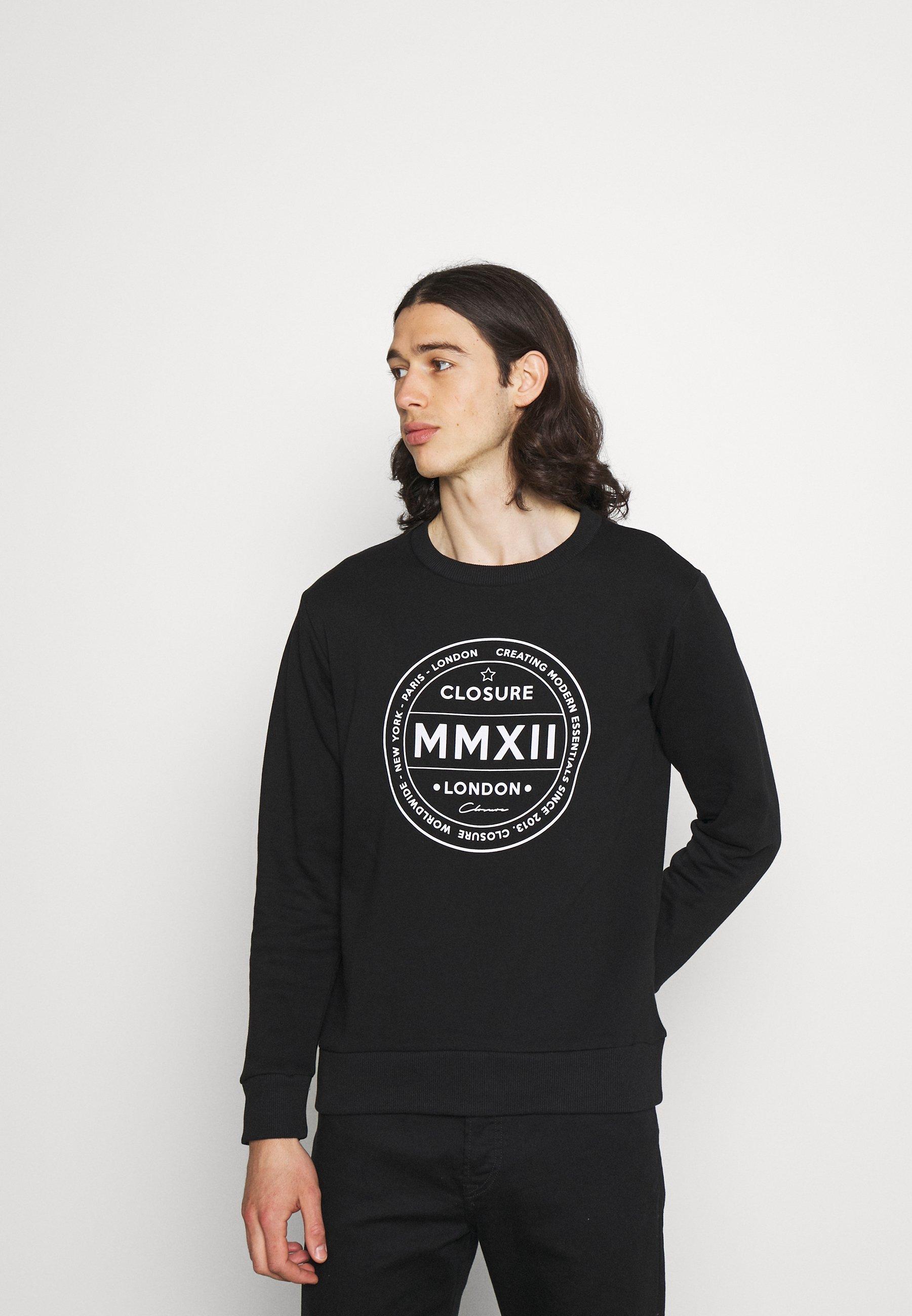 Men LOGO EMBLEM CREWNECK - Sweatshirt