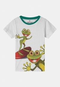 Lemon Beret - SMALL BOYS - Print T-shirt - optical white - 0