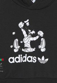 adidas Originals - GOOFY HOODIE DISNEY - Survêtement - black - 3