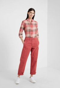 Polo Ralph Lauren - Button-down blouse - red/navy - 1