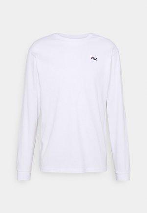 EDRIC LONG SLEEVE - T-shirt à manches longues - bright white