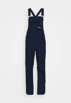AVALON BIB  - Ski- & snowboardbukser - dress blue