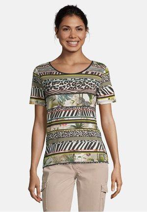 Print T-shirt - nature/khaki