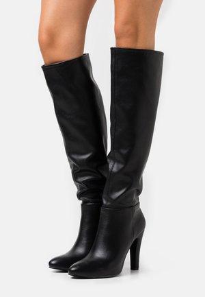 PINNIE - Stivali con i tacchi - black