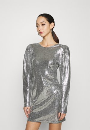 AUGUSTA SEQUINS DRESS EXCLUSIVE - Vestito elegante - silver