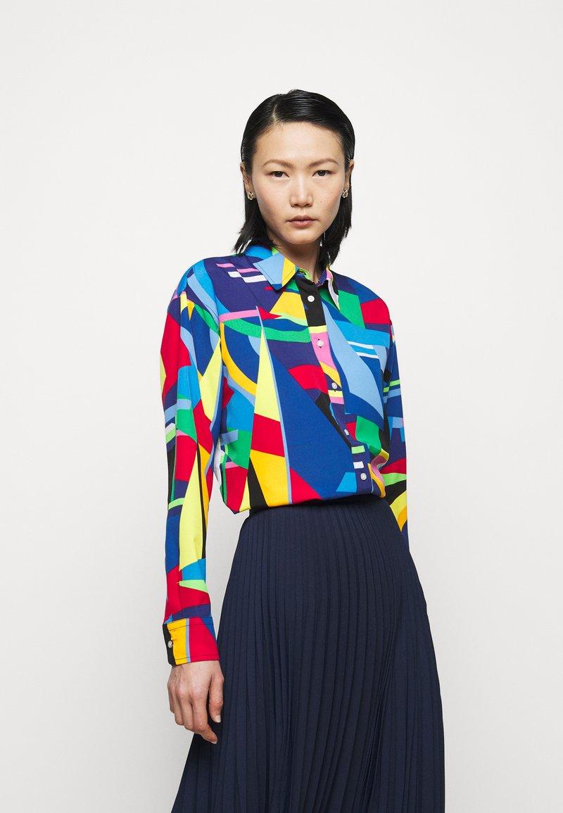 Lauren Ralph Lauren - Button-down blouse - black/multi