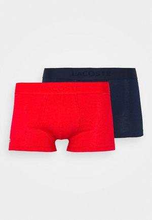 2 PACK - Shorty - marine/rouge