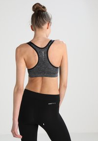 ONLY Play - ONPMARTINE SEAMLESS SPORTS  BRA - Sports bra - black - 2