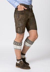 Stockerpoint - Shorts - bison - 0