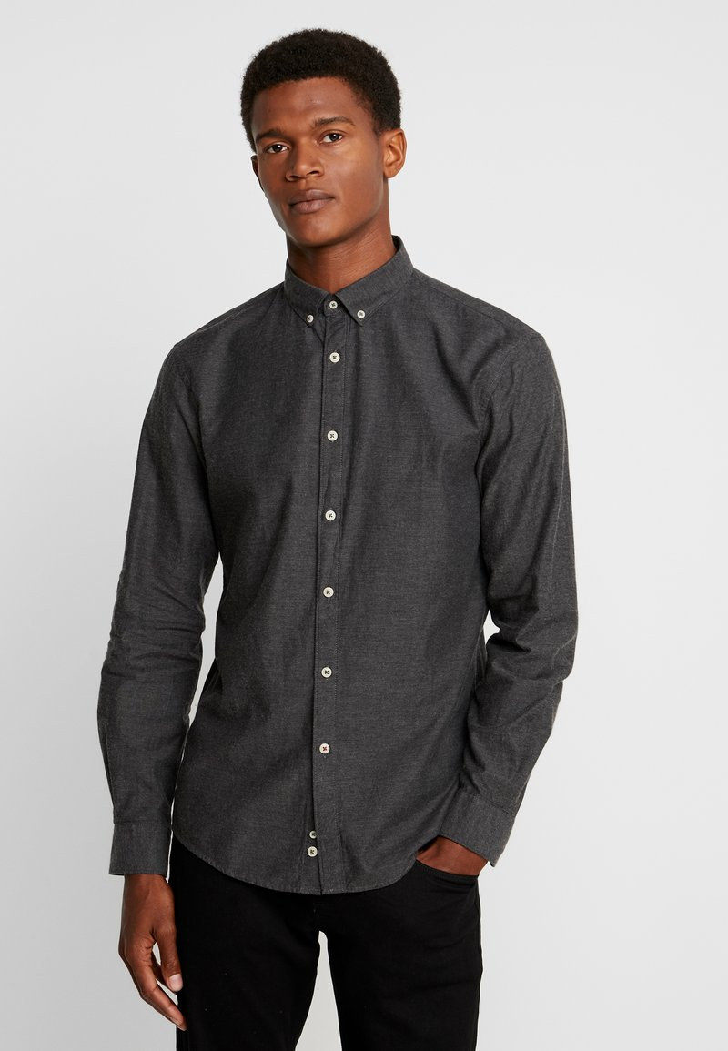 CELIO - NAPINPOINT - Shirt - anthracite