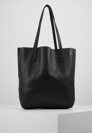 UNLINED NORTH SOUTH TOTE - Kabelka - black