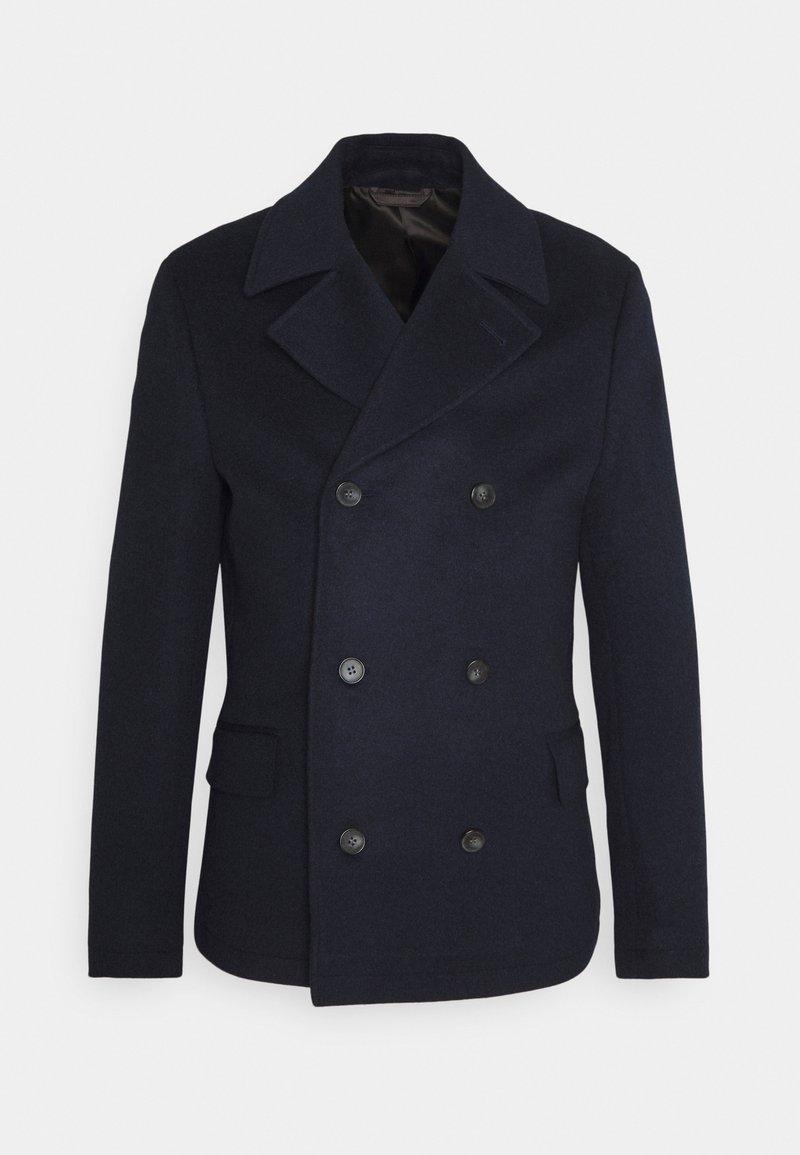 Isaac Dewhirst - PEA COAT - Classic coat - dark blue