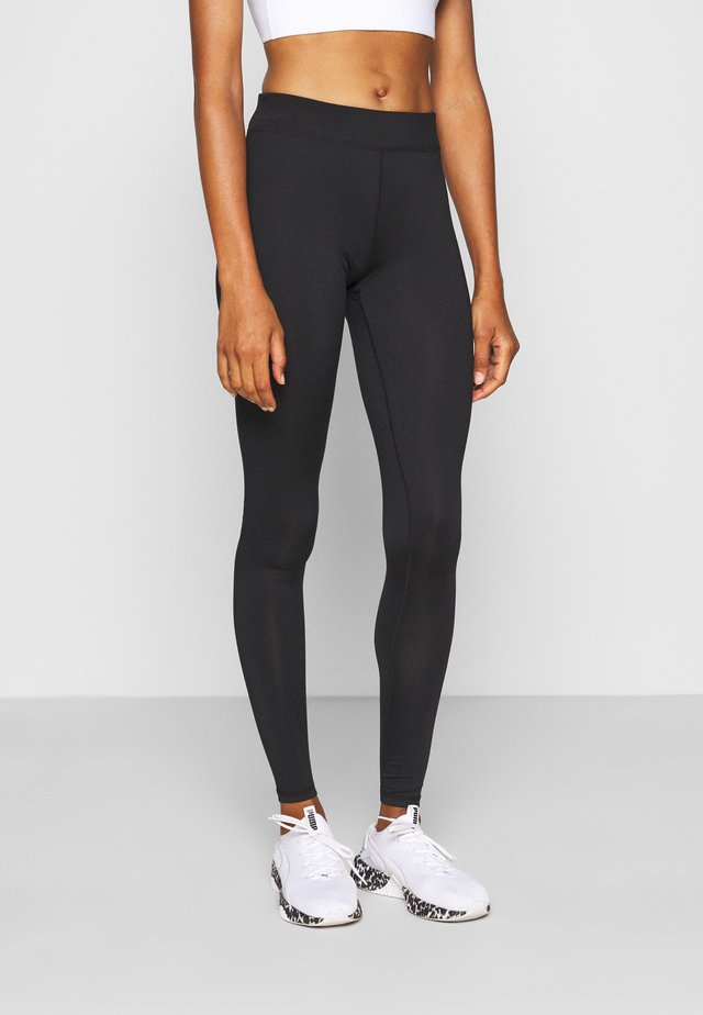 ONPPERFORMANCE - Leggings - black/red