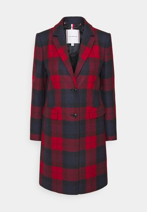 BLEND CHECK CLASSIC COAT - Manteau classique - primary red