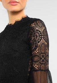 WAL G. - DETAIL MINI DRESS - Vestido de cóctel - black - 3