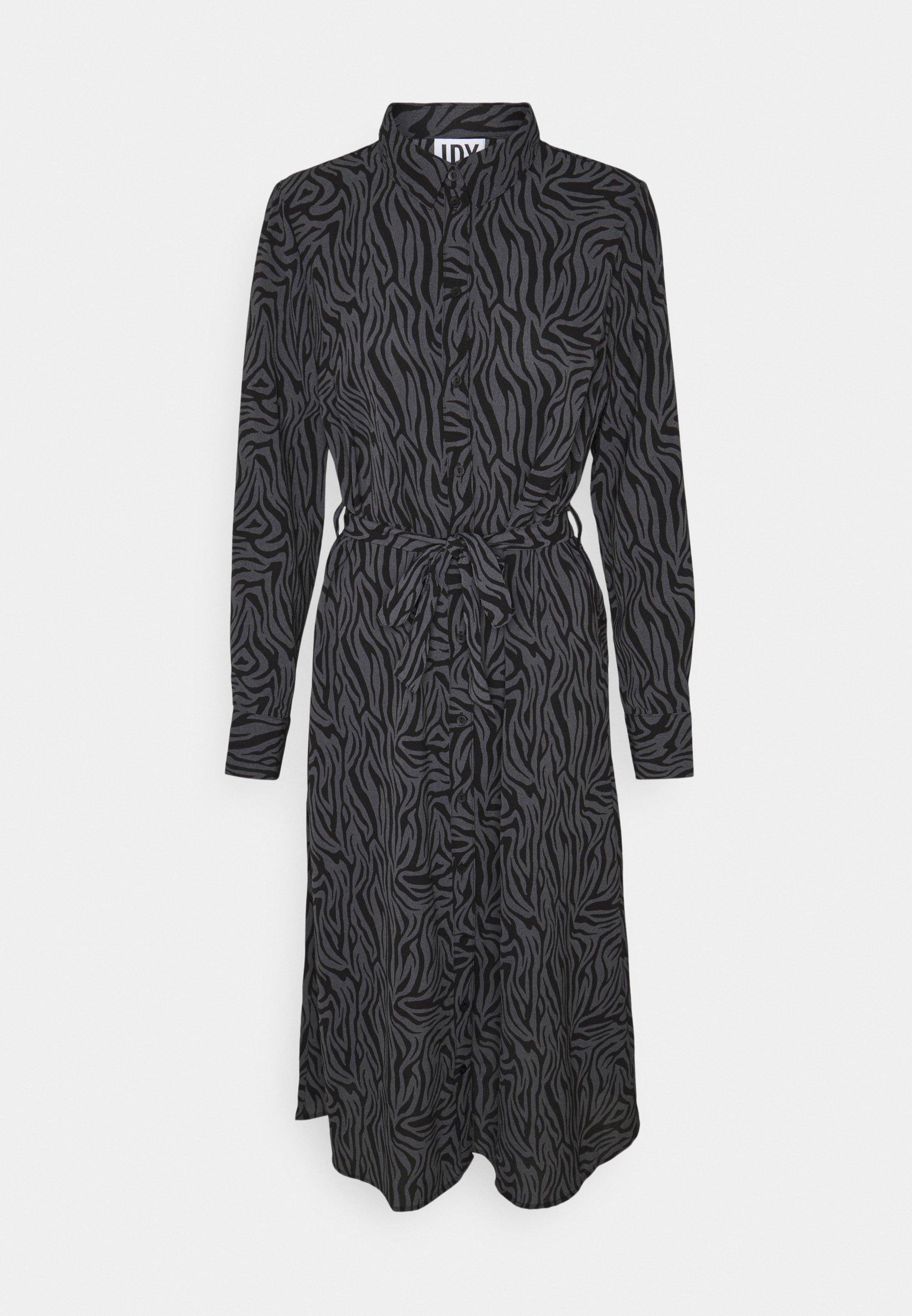 Mujer JDYPIPER ABOVE CALF DRESS - Vestido camisero