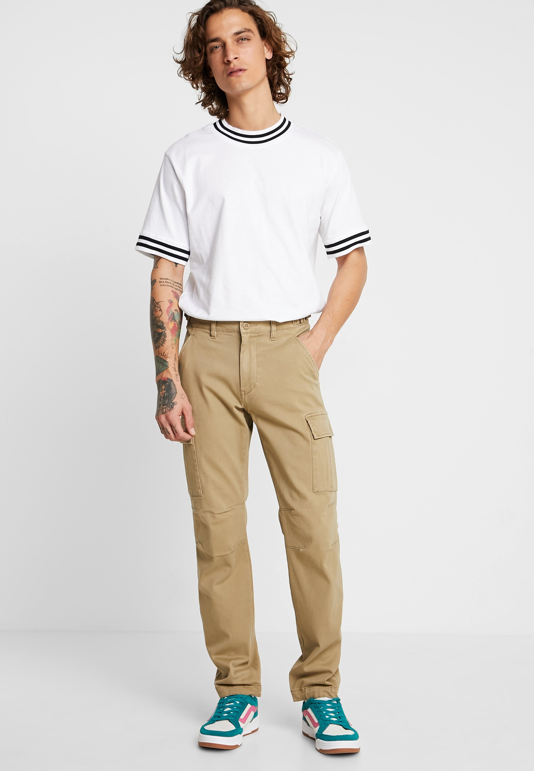 YOURTURN Pantalones cargo - tan - Ropa de hombre