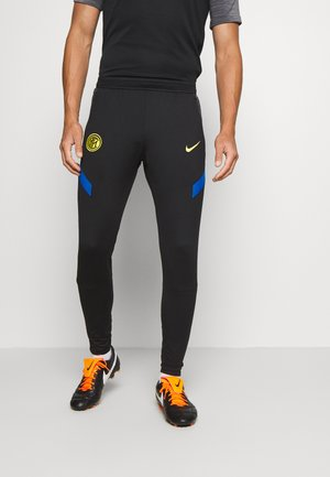 INTER MAILAND DRY PANT - Klubtrøjer - black/blue spark/tour yellow