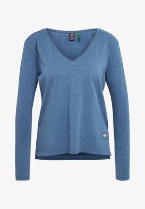CORE STRAIGHT - Long sleeved top - worn in kobalt htr