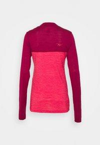 Triple2 - SWET NUL WOMEN - Wielershirt - beet red - 6