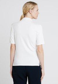 Rich & Royal - FUNNEL NECK - T-shirts basic - white - 2