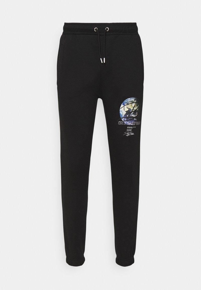 Daily Basis Studios - GLOBE UNISEX - Pantalon de survêtement - black