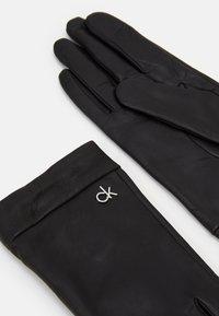 Calvin Klein - GLOVES - Rękawiczki pięciopalcowe - black - 1