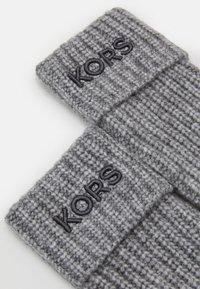 Michael Kors - EMBROIDERD GLOVE - Gloves - ash melange/charcoal - 2