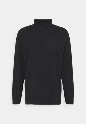 PLUS - Bluzka z długim rękawem - black