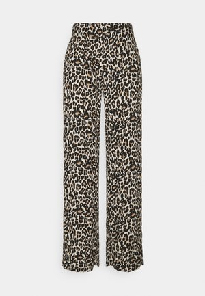 VMSIMPLY EASY WIDE PANT - Trousers - oatmeal/linea