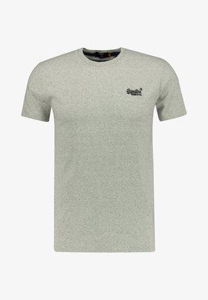 Basic T-shirt - silber