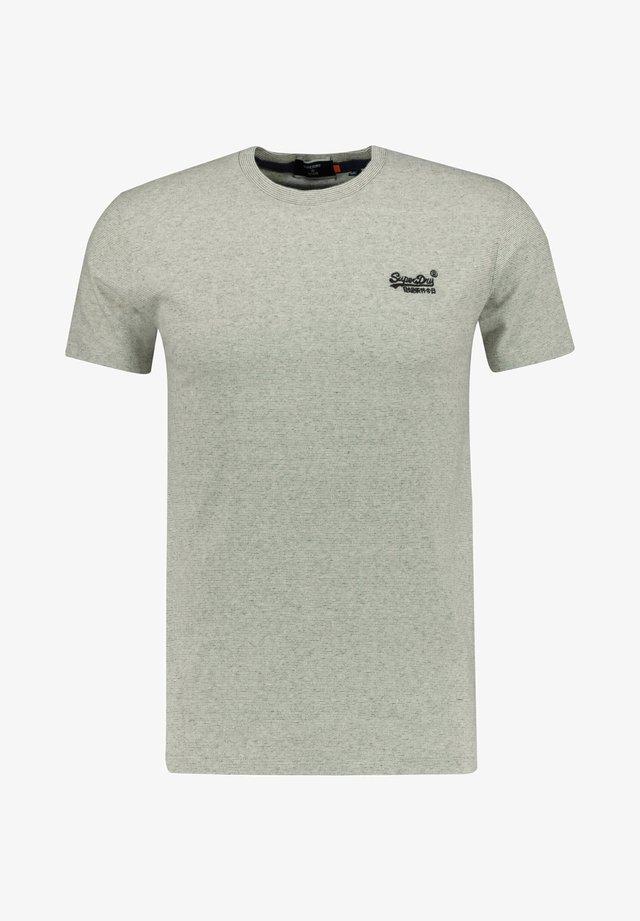 T-shirt imprimé - silber