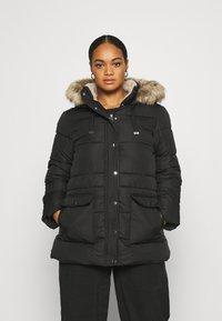 Vero Moda Curve - VMSKYLAR JACKET - Winter coat - black - 0