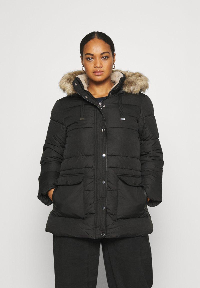 Vero Moda Curve - VMSKYLAR JACKET - Winter coat - black