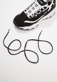 Skechers Sport - DLITES - Sneakers basse - black/white - 5