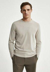 Massimo Dutti - Sweatshirt - beige - 0