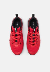 Under Armour - CHARGED COMMIT TR  - Sports shoes - red/halo gray/black - 3