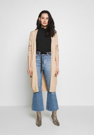 VIRIL LONG CARDIGAN - Cardigan - beige