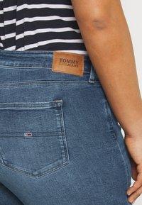 Tommy Jeans Curve - SYLVIA - Skinny-Farkut - dark blue - 4