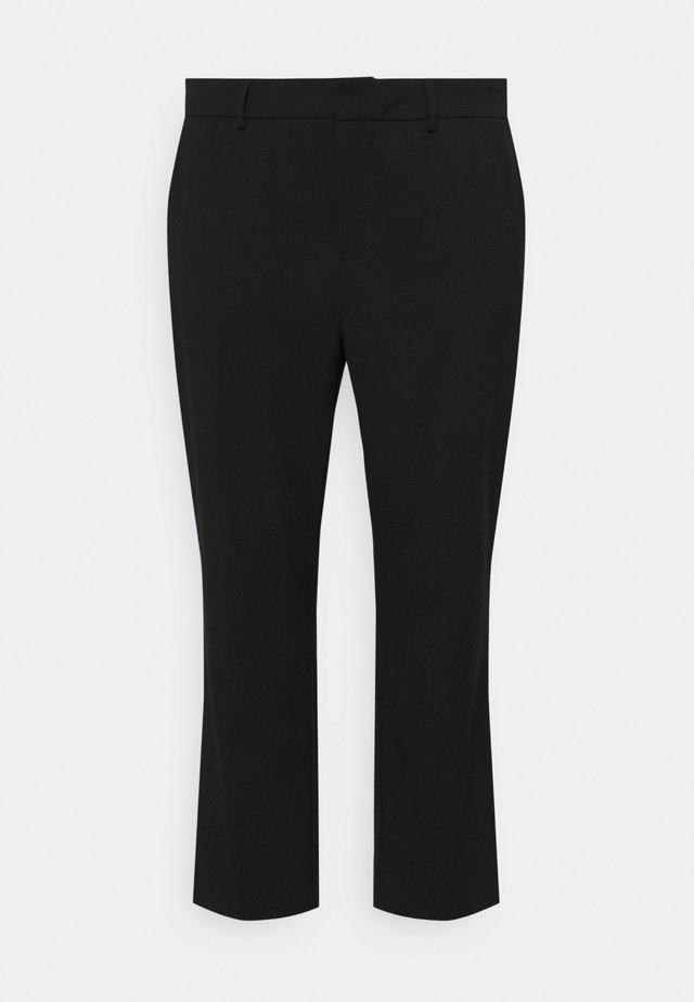 META PANTS - Pantalones - black deep